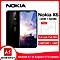 Nokia X6 5.8-inch (4GB, 64GB ROM) Android 8.1, 16MP+16MP, 3060mAh, Dual Sim 4G LTE Smartphone - Black