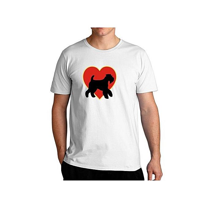 I Love Heart Welsh Terriers Ladies T-Shirt