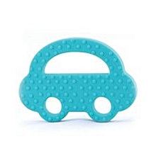 Car-Shaped Baby Teether - Blue