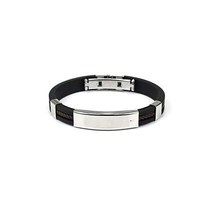 Buy Generic Fashion Mens Jewelry Bracelet Stainless Steel Cuff