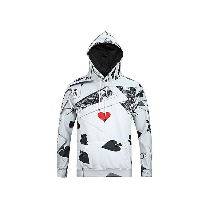 7da707da4 GeneAfrica Designer Hoodies For Men - White @ Best Price   Jumia Kenya