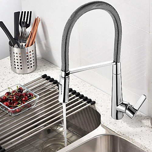 Buy Generic Morden Pull Down Kitchen Faucet 360 Rotate Sprayer Cold