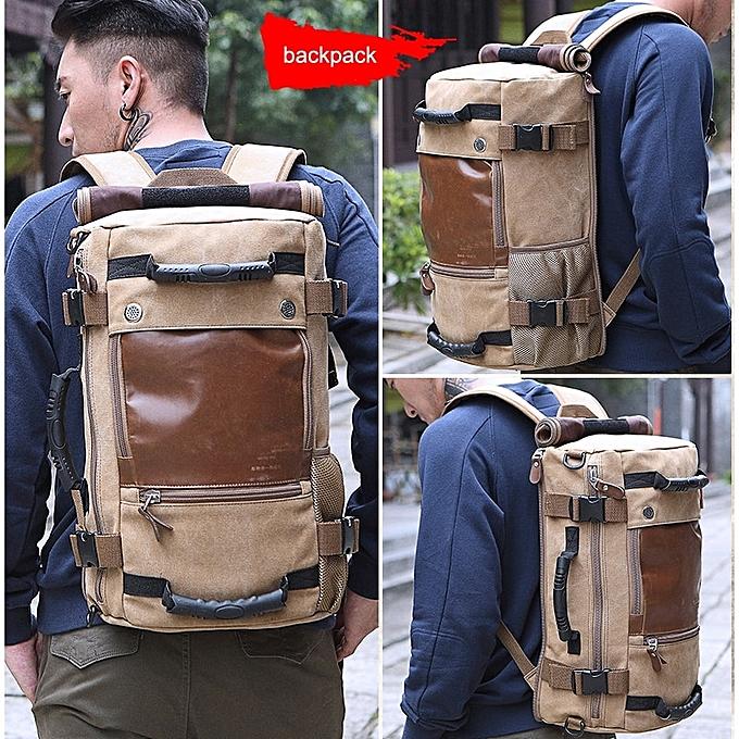 fb0b8927cb ... Men Travel Backpack Male Luggage Shoulder Bag Laptop Backpacking ...