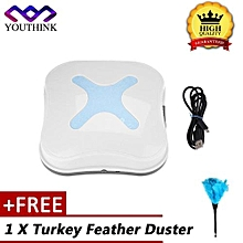 [Buy 1 Get 1 Free Turkey Feather Duster] USB Rechargeable Home Mini Automatic Smart Floor Cleaning Robot Vacuum Cleaner Sweeper