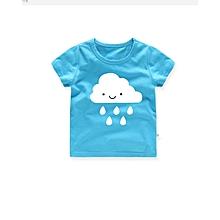 Little Boys  Short Sleeve T Shirt Baby Summer Cotton Top