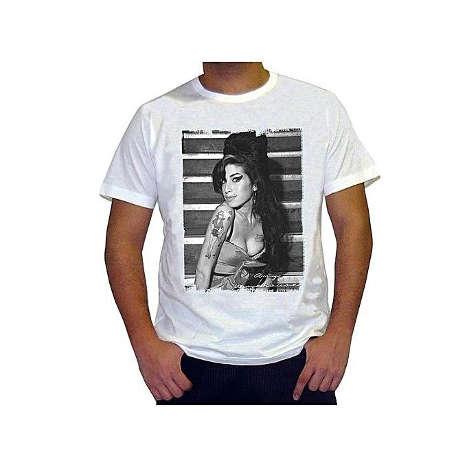 Generic Amy Winehouse Men S T Shirt Celebrity Funny Fashion Short