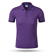 2018 Newest Customized Fashion Men And Women Available Summer Polo Shirts-Purple