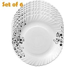 6 Pcs Classique Dinner Plates