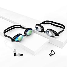 Xiaomi Yunmai Swimming Goggles Set HD Anti-fog Nose Stump Earplugs Silicone Swimming Glasses
