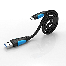 VENTION VAS A37 2M USB 3.0 To Type C Charging Data Cable For HUAWEI Xiaomi MacBook Pro