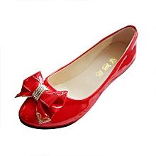 Spring Autumn Toe Flat Heel Bow Tie Shoes Women Fashion Women's Flat Shoes RD/35