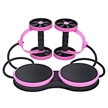 Abdominal Wheel Multi-functional Exercise Fitness Roller Pull Rope Twist