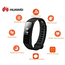 HUAWEI Honor Band 3 Smartband Heart Rate Monitor Calories Consumption Pedometer-BLACK