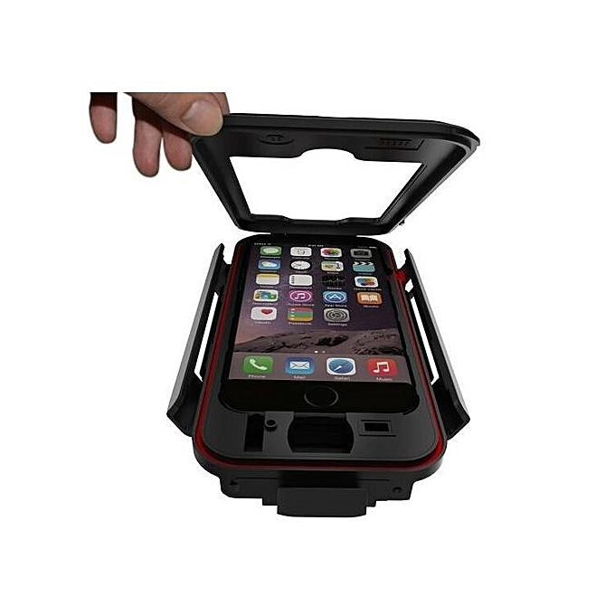 factory authentic 5cc45 8311c (Variation:iPhone 6s Plus)Bike Bicycle Phone Holder Base Waterproof Case  Cover Bag For Iphone7 Case Handlebar Cycling Mount Shookproof For Iphone 6  ...