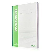7658 Note Book Notebook for School / Office - Green