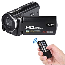 """HDV-F5 1080P Full HD 3.0"""" Rotatable Touch Screen LCD Digital Video Camera Recorder Camcorder DV DVR 24MP 16X Digital Zoom Anti-shake with Remote Controller"""