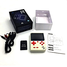 Mini Handheld Game Player Built-in Classic Games Console Gift For Children-White