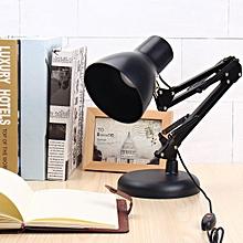 Folding USB LED Vintage Swing Arm Reading Light Table Study Desk Lamp Bulb Home