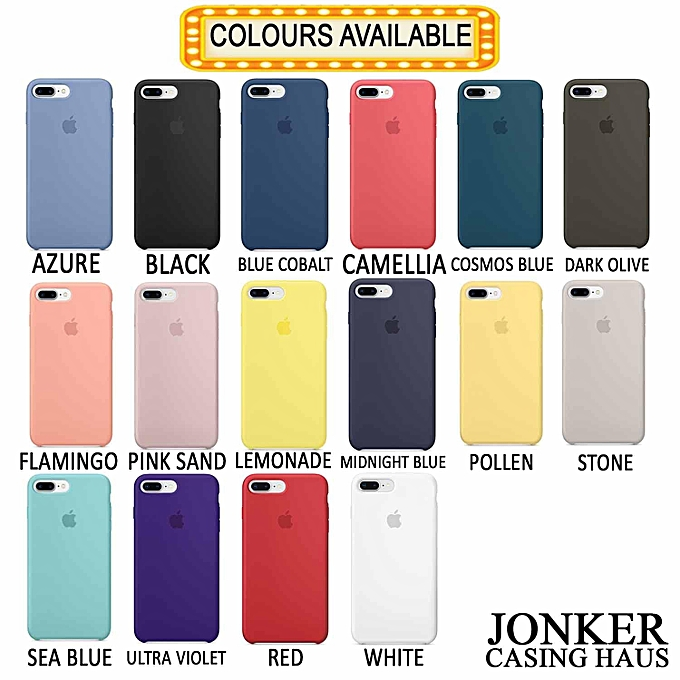 Buy Generic Iphone Liquid Soft Silicone High Quality Case With 16
