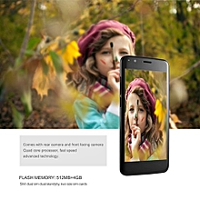 EY S8 Lightweight 5.0 Inch IPS Screen 512MB RAM 4GB ROM 3G Phone For Android 5.1-black