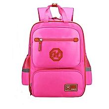 School Bag For Boys/Girl Waterproof Backpack - Pink
