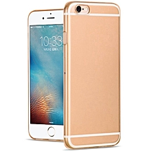 Cover Case Crystal Soft TPU For IPhone 6 6S - Gold