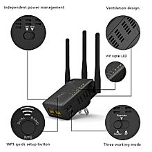 Wavlink 750Mbps 5GHz 2.4GHz Wireless Wifi Extender Repeater Router With 3 External Antennas US Plug