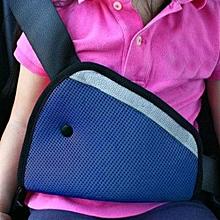 Car Safety Seat Belt Padding Adjuster For Children Kids Baby Car Protection Soft Pad Mat Safety Car Seat Belt Strap Cover Blue