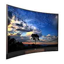 "55P3CUS - 55"" - 4K UHD Smart LED Curved TV - Black"