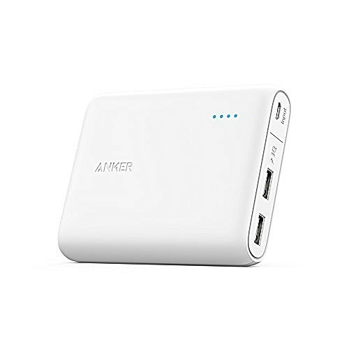 PowerCore 13000mAh Ultra Compact Portable Charger with Power IQ and VoltageBoost – A1215 – White