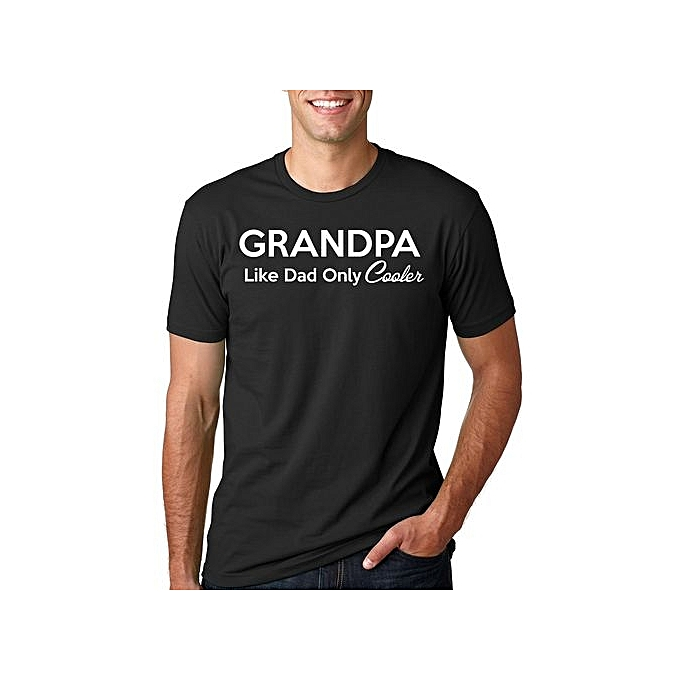 9f388078 Fashion Grandpa T-Shirt Gift For Grandfather Funny Grandpa Tee Shirt ...