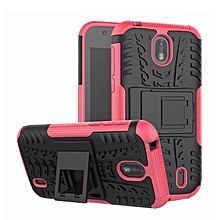 For Nokia 1 Rugged Hybrid Armor Heavy Duty Hybrid TPU Stand Impact Plastic Case Hard Shock Proof Cover Case For Nokia1