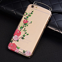 Luxury Bling Glitter Rhinestone Crystal Case Cover For iPhone 6s Plus 5.5inch-Clear