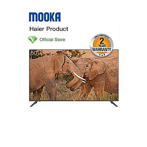 """Haier  50"""" - UHD SMART TV  - Black"""