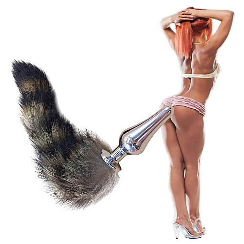 e39080d0a Generic Aluminum Alloy Anal Plug Fox Tail Butt Plug Anal Sex Toys Anal Tail  Plug