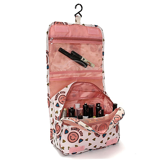 9fa3998438ba New Travel Toiletry Wash Cosmetic Makeup Storage Hanging Organizer Bag Case