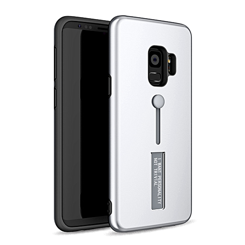 newest a0b0b 98070 Galaxy S9 Case,Dual Layer PC+TPU Durable Slim Fit Case with Stand and Anti  Drop Finger Strap Multi-Function Protective Cover for Samsung Galaxy S9 ...