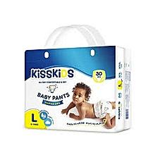 Super Dry Disposable Pants, Size L, 9-14kgs, 30 count