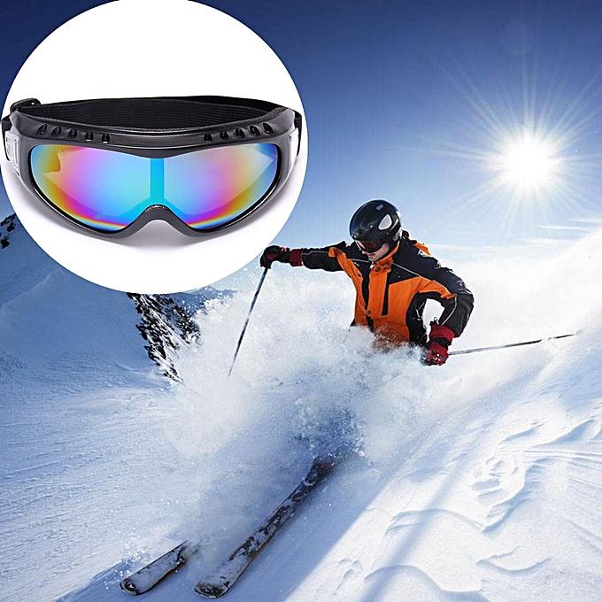 bf572b79811 Africanmall store Snowboard Ski Goggles Gear Skiing Sport Adult Glasses Anti -fog UV Dual Lens