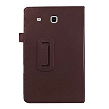 PU Leather Cover For Samsung Galaxy Tab E  T560-T561 9.6inch Tablet BW
