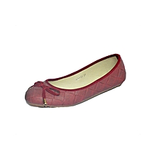 Red Ladies Doll Shoes