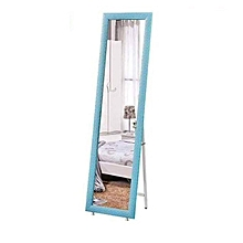 Standing Mirror with Frame - Blue
