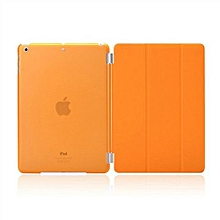 For IPad 5 Case, Coosybo-2in1 Smart Cover Folded Luxury Leather Protective Matte Case For Apple IPad 5/Air 1 (Orange)