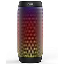 BQ-615 - Bluetooth Speaker HIFI PRO LED Lights NFC Mic FM Radio TF Card Slot - Black
