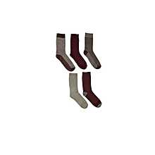 Grey Fashionable Socks Set