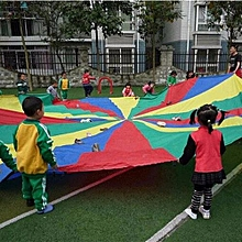 4m Kids Play Rainbow Parachute Outdoor Game Exerclse Sport