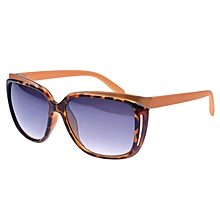 Uv400 Retro Style Sunglasses For Outdoor Sports, Frame Color: Testudinarious + Yellow