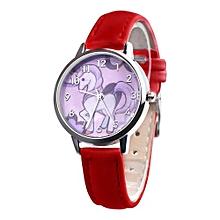 Tectores 2018 Fashion Multifunction   Fashion Cute Animal Kids Girls Leather Band Analog Alloy Quartz Watch