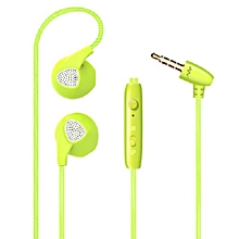 mobile phone universal color intelligent earphone wire controlled American headphone