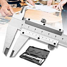 "New 150mm/6"" Stainless Steel Vernier Caliper Gauge Measuring Tool Paquimetro Set"